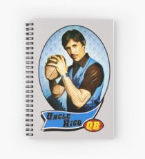 Uncle Rico Football card Spiral Notebook