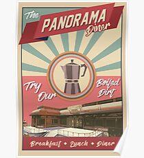 Panorama Diner Poster