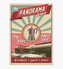 Panorama Diner Photographic Print
