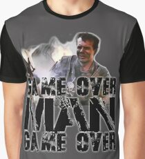 Game Over Man, Game over Graphic T-Shirt