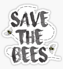 Save the Bees, Save the Earth Sticker
