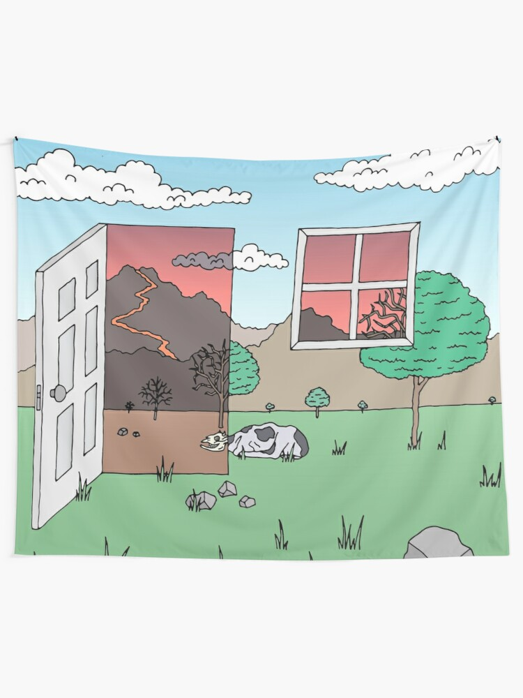 Alternate view of Door and Window Tapestry