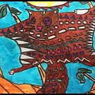 Dojo Squirrel by Grace by Crayons Markers and Paint