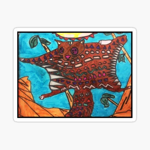 Dojo Squirrel by Grace Sticker