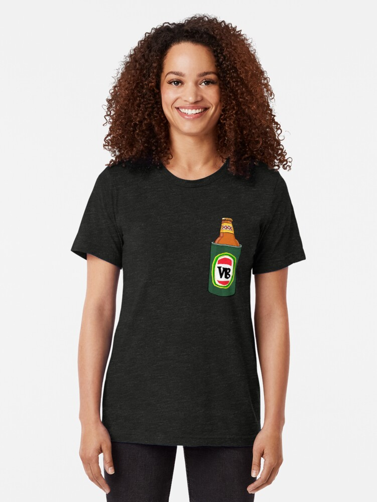 Alternate view of VeeBee vs Milton Mango Tri-blend T-Shirt