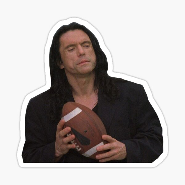The Room - Johnny Sticker Sticker