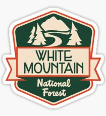 White Mountain National Forest Sticker