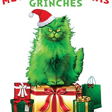 MEOWY Christmas Grinches by TrendyTees12