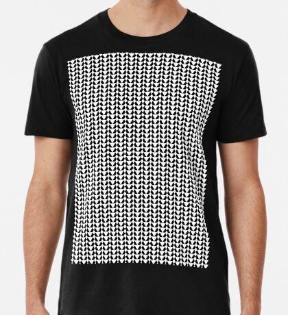 Black & White Pattern for a Skirt Premium T-Shirt