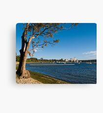 Crawley Bay, Perth Western Australia Canvas Print