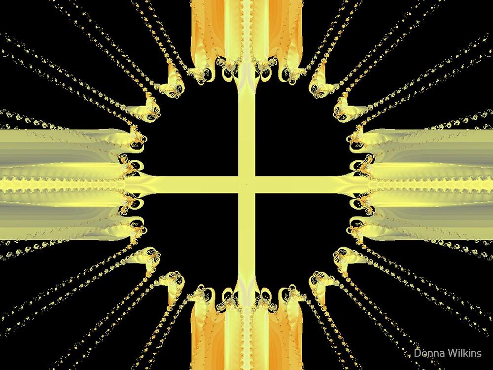Golden Cross by Donna Adamski