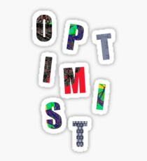 OPTIMIST  Sticker