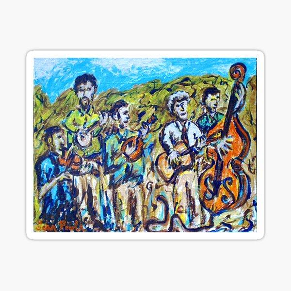The Del McCoury Band Sticker