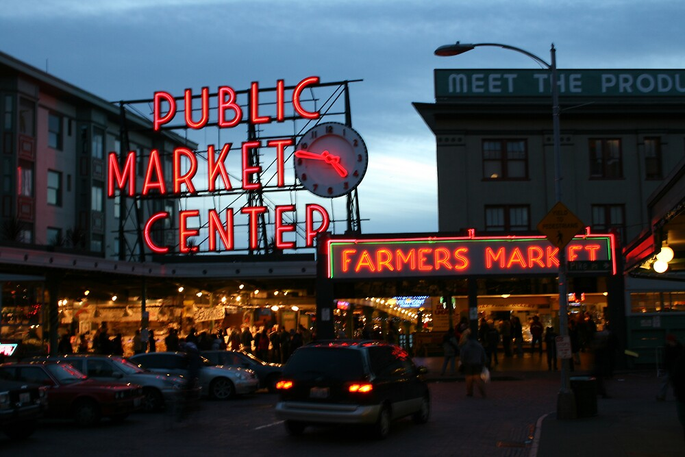 pike place markets by daggie