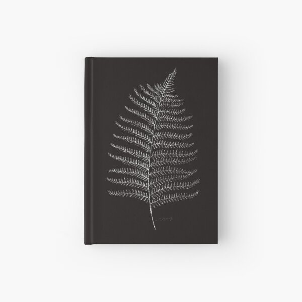 New Zealand Fern Leaf Hardcover Journal