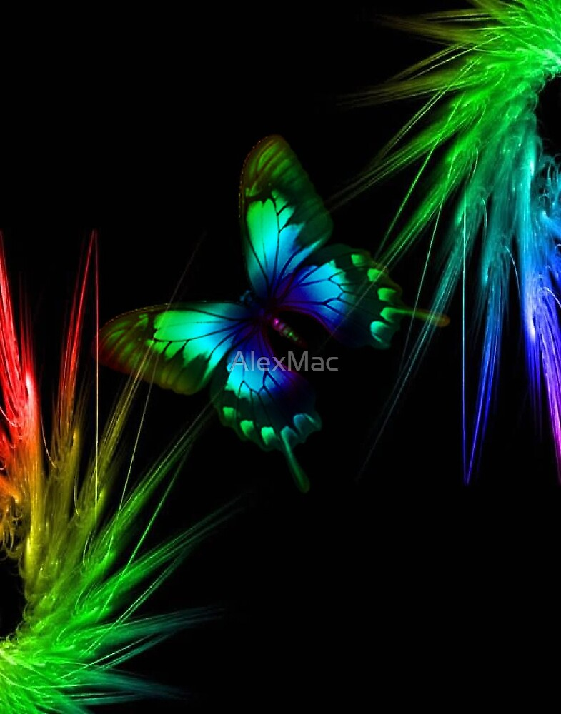 Electric Butterfly by AlexMac