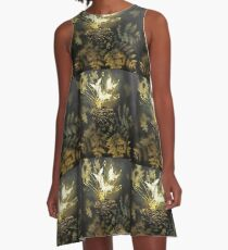 "Tony DuPuis ""Woodland Faeries"" Collection  A-Line Dress"