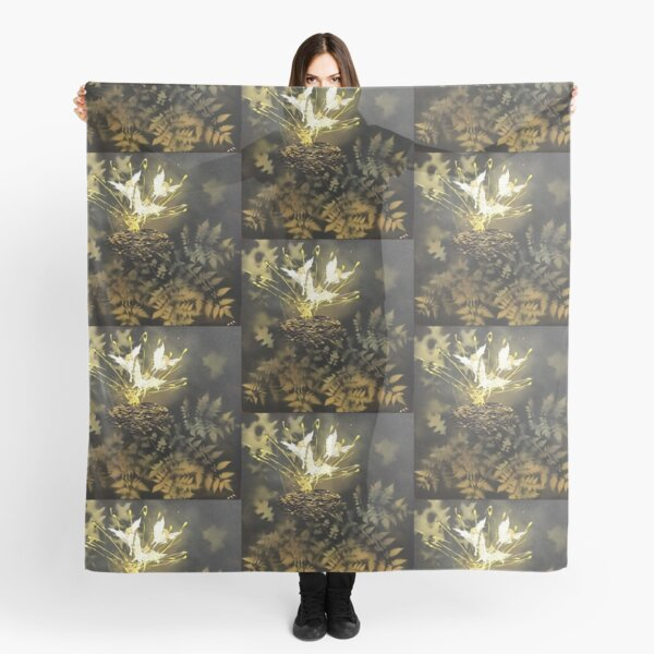 """Tony DuPuis """"Woodland Faeries"""" Collection  Scarf"""