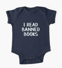 I read banned books One Piece - Short Sleeve
