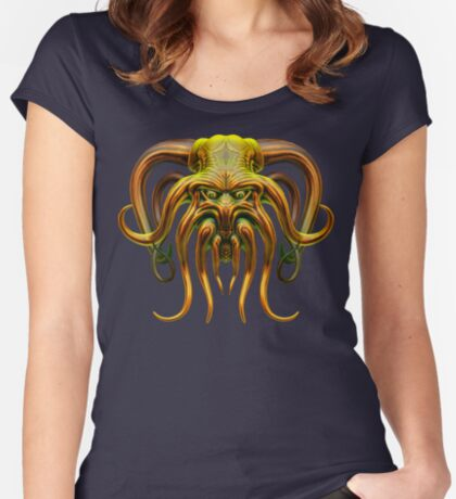 Cthulhu Fitted Scoop T-Shirt