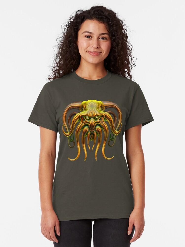 Alternate view of Cthulhu Classic T-Shirt