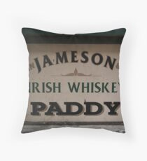 WHISKEY YOUR THE DEVIL Throw Pillow