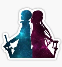 SAO sticker mix colors Sticker