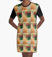 """Flowers in a Vase"" Original by Tony DuPuis Graphic T-Shirt Dress"