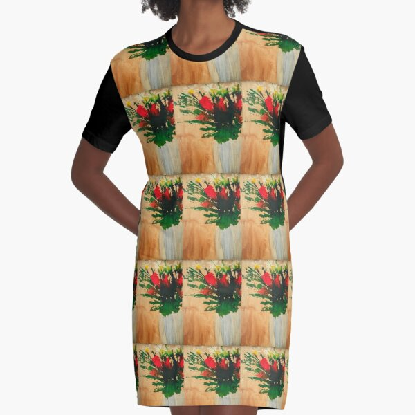 """""""Flowers in a Vase"""" Original by Tony DuPuis Graphic T-Shirt Dress"""