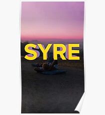 syre. Poster