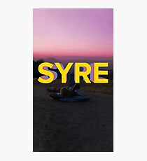 syre. Photographic Print