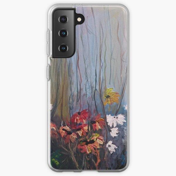 Flowers in forest Samsung Galaxy Soft Case