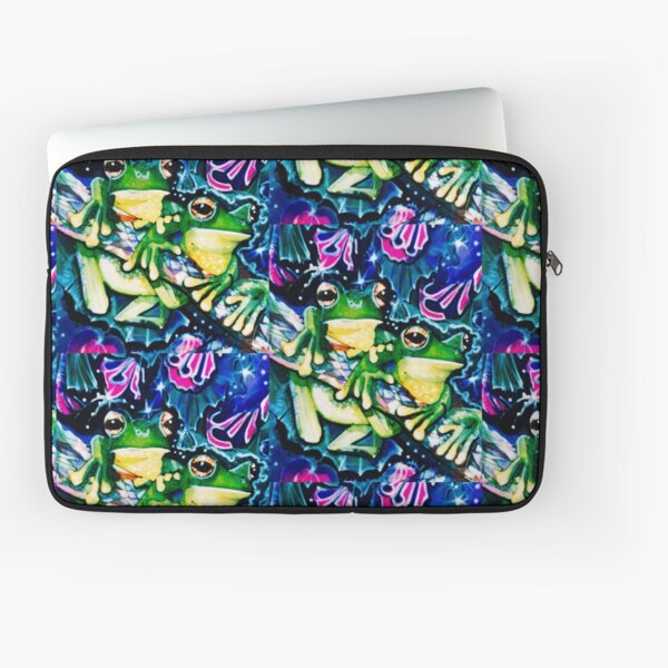 two frogs Laptop Sleeve