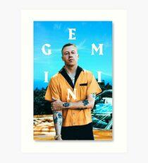 Gemini Macklemore  Art Print