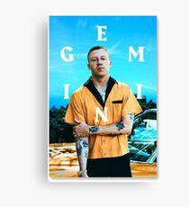 Gemini Macklemore  Canvas Print