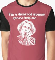 SERIAL MOM john waters MINK STOLE Graphic T-Shirt