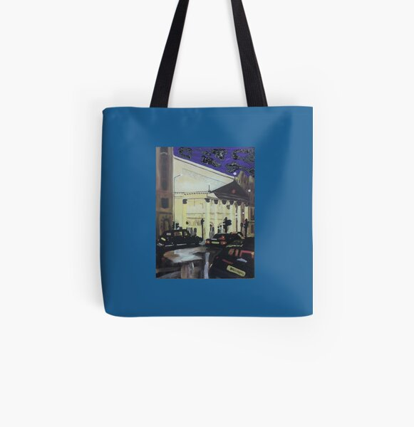 London All Over Print Tote Bag