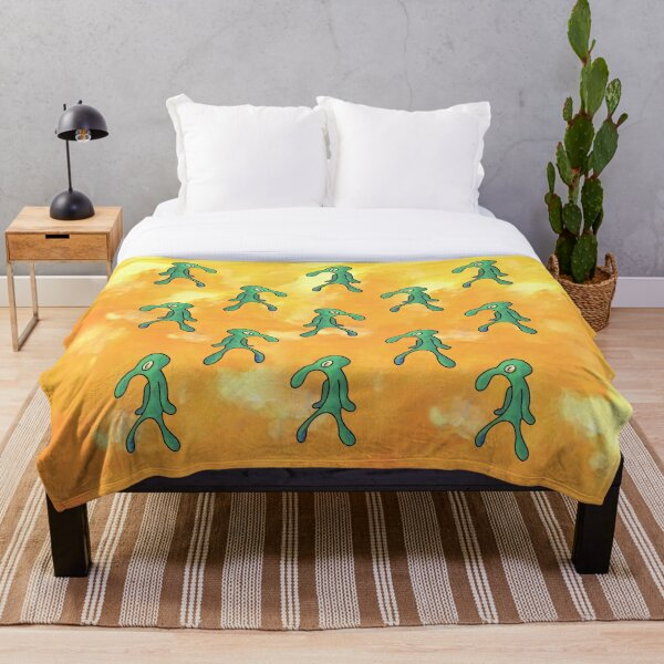 Bold and Brash (Yellow) Throw Blanket