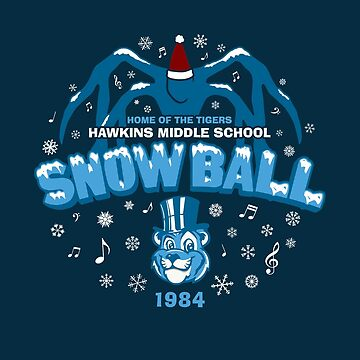 Hawkins '84 Snow Ball by huckblade
