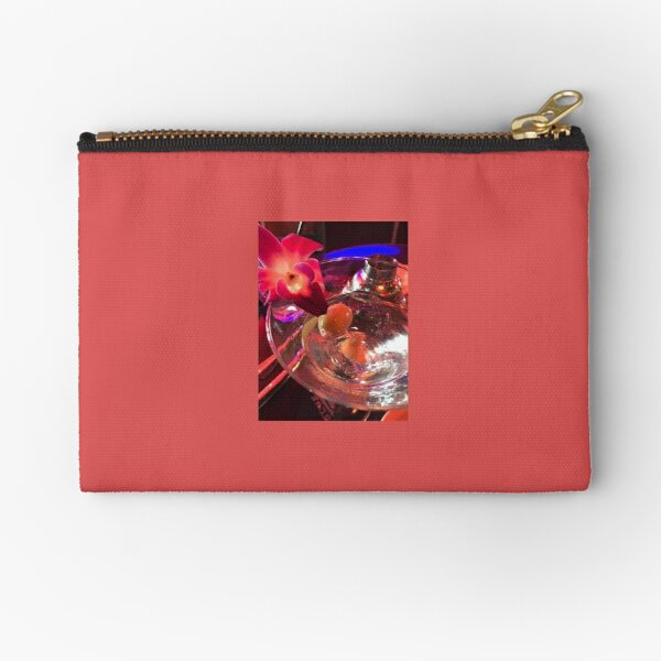 Martini Madness 2  Original Photography by Tony DuPuis Zipper Pouch