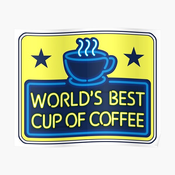 """""""World's Best Cup of Coffee"""" - as seen on """"Elf"""" Poster"""