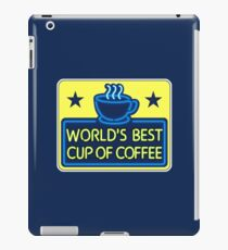 """World's Best Cup of Coffee"" - as seen on ""Elf"" iPad Case/Skin"