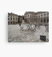 Dull afternoon, Somerset House, London Metal Print