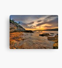 Ripples - Balmoral Beach - The HDR Experience Canvas Print