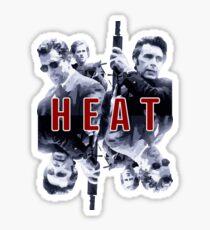 Heat - The Movie  Sticker