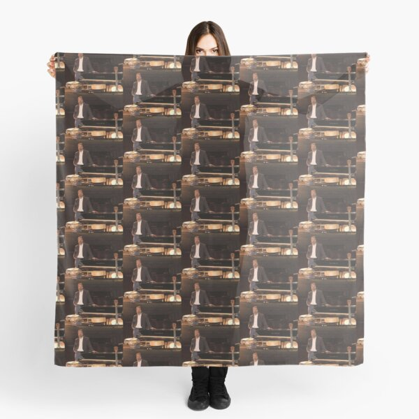 Tony DuPuis Theater Stage Pic Scarf