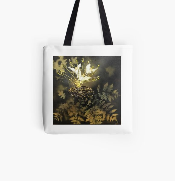 """Tony DuPuis """"Woodland Faeries"""" Collection  All Over Print Tote Bag"""