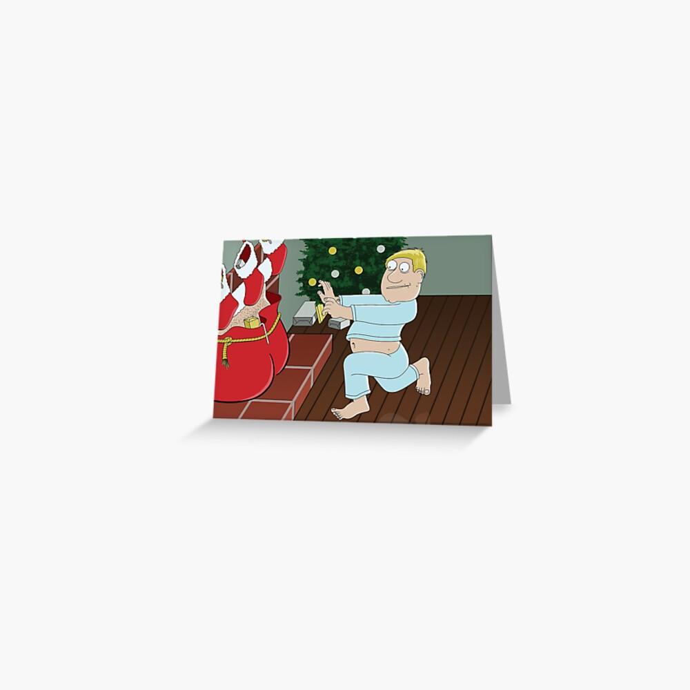 Santa's Sack Greeting Card