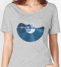 Nature Guitar Record Women's Relaxed Fit T-Shirt
