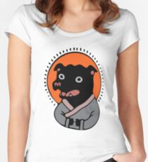 Staffy Magic Women's Fitted Scoop T-Shirt